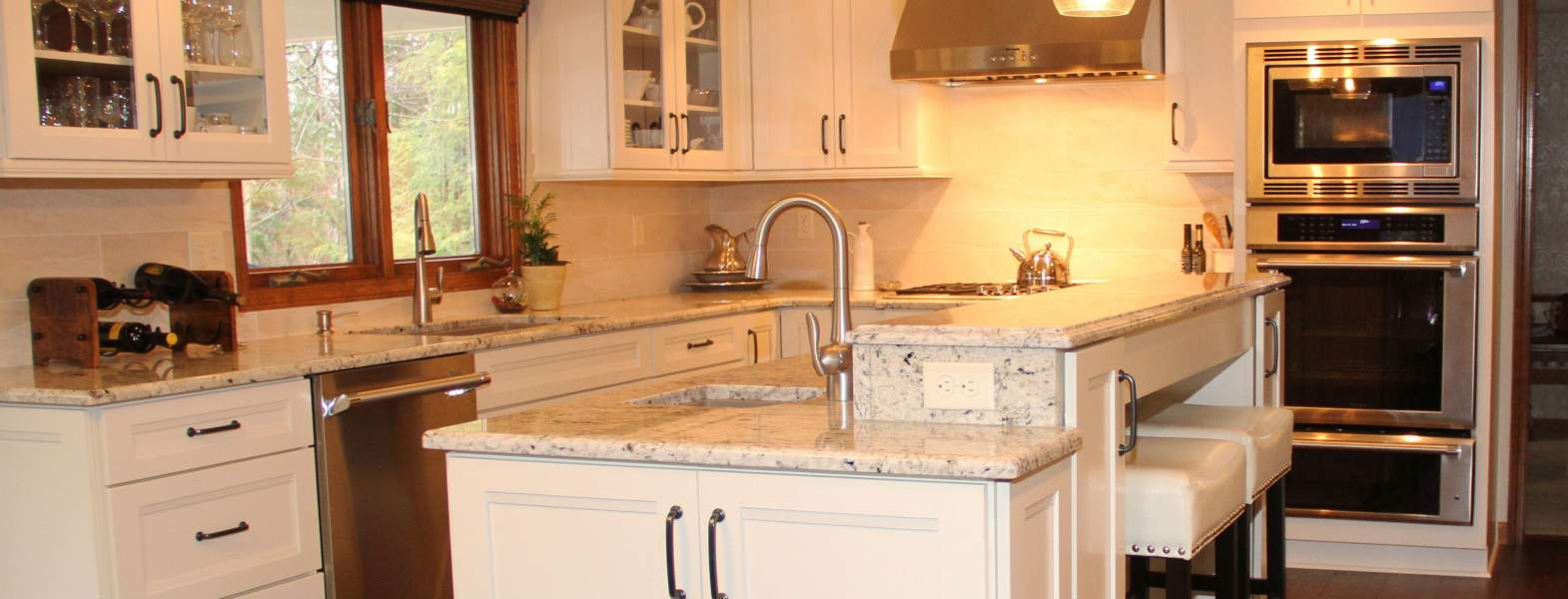 Elegant Transitional Kitchen Kitchens Projects Repp Renovations Buffalo Ny Design