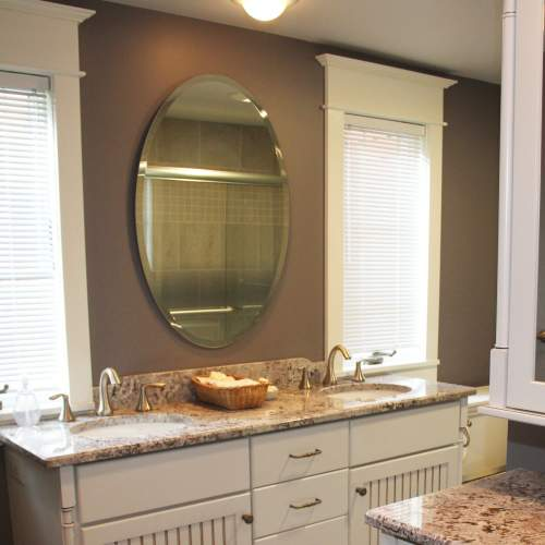 Transitional Guest Bathroom