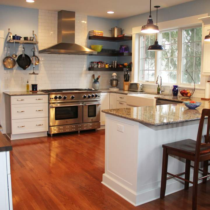 Before & After Bright & Casual Kitchen Transformation