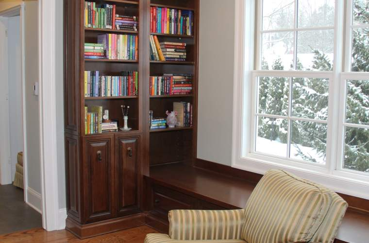 Master Suite Addition with Library