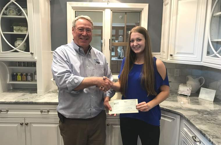 Emily Zimmerman receives Repp Renovations scholarship