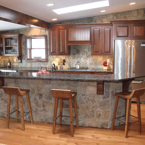 Rustic Lakehouse Kitchen > Kitchens > Projects > Repp