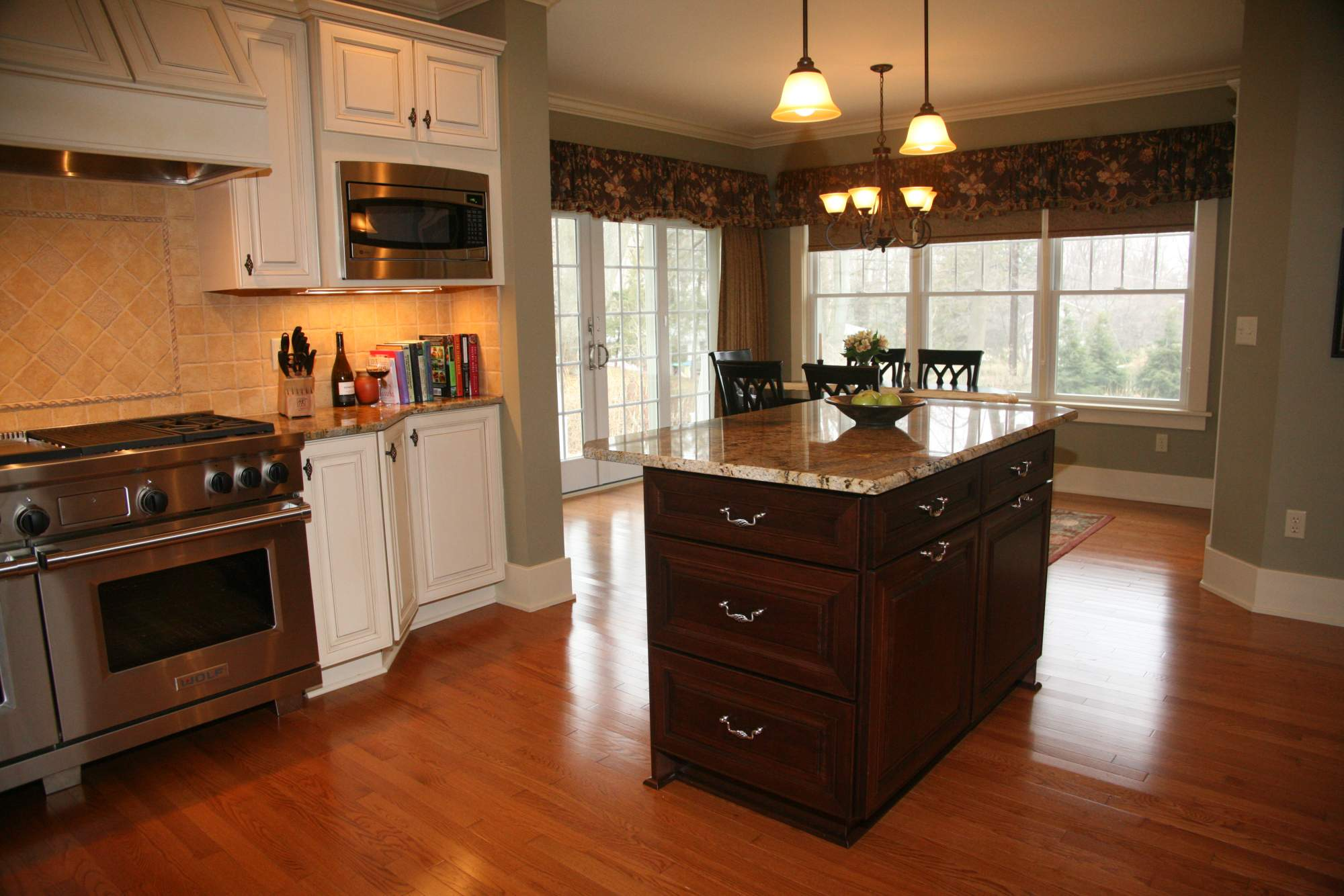 Historical Traditional Gourmet Kitchen