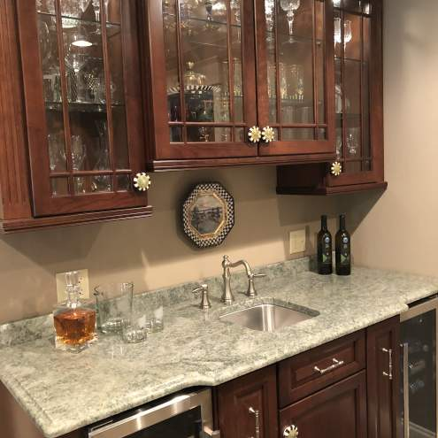 Historical Traditional Home Bar