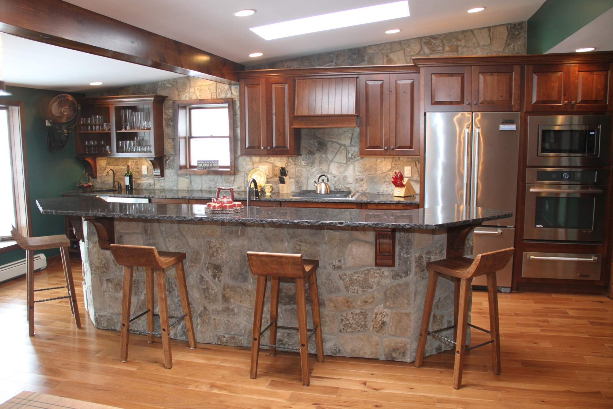 Rustic lakehouse kitchen kitchens projects repp renovations buffalo ny design build Kitchen design lake house