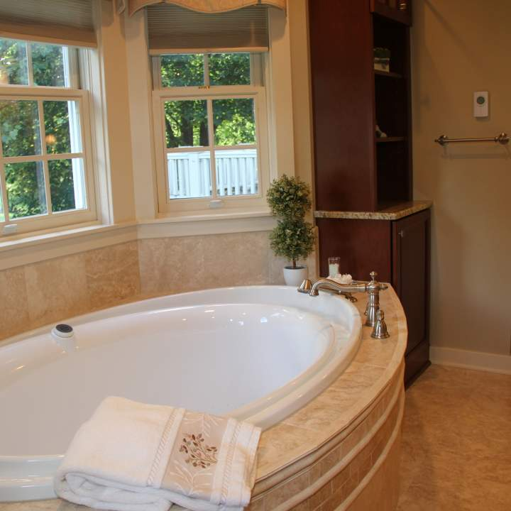 Historical Traditional Master Bath